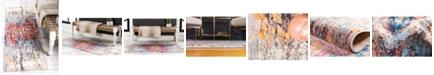 "Jill Zarin Chelsea Downtown Jzd009 Multi 2'2"" x 6' Runner Rug"