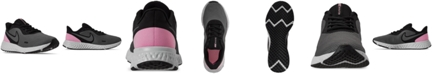 Nike Women's Revolution 5 Wide Width Running Sneakers from Finish Line