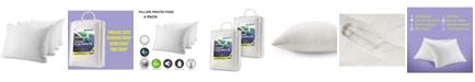 Waterguard Pillow Protectors, Queen - Set of 4 Pieces