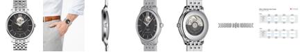 Tissot Men's Swiss Automatic Tradition Stainless Steel Bracelet Watch 40mm T0639071105800
