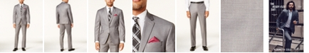 Kenneth Cole Reaction Men's Ready Flex Basketweave Slim-Fit Suit