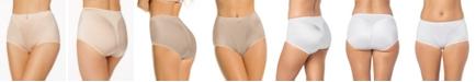 Leonisa Women's  Light Tummy-Control Hi Cut Thong-Silhouette Panty 01214