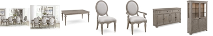 Furniture Elina Expandable Dining Furniture Collection, Created for Macy's