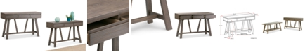 Simpli Home CLOSEOUT! Baylie Console Table