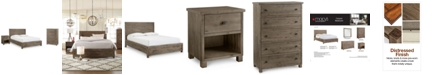 Furniture Canyon Platform Bedroom Furniture, 3 Piece Bedroom Set, Created for Macy's,  (King Bed, Chest and Nightstand)
