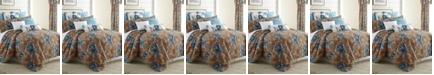 Colcha Linens Tropical Bloom Duvet Cover Set-Twin