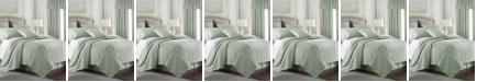 Colcha Linens Cambric Seafoam Duvet Cover-Queen
