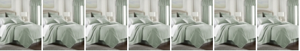 Colcha Linens Cambric Seafoam Duvet Cover-Twin