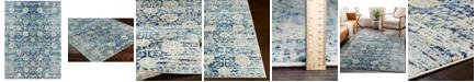 "Surya Harput HAP-1073 Bright Blue 5'3"" x 7'3"" Area Rug"