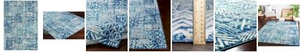 "Surya Harput HAP-1092 Bright Blue 7'10"" x 10'3"" Area Rug"