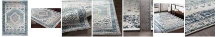 "Surya Varanasi VAR-2303 Medium Gray 5'3"" x 7'3"" Area Rug"