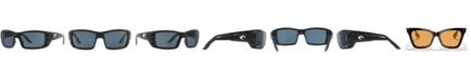 Costa Del Mar Polarized Sunglasses, PERMIT POLARIZED 60