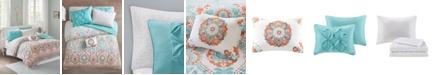JLA Home Intelligent Design Vinnie Queen 8 Piece Comforter and Sheet Set