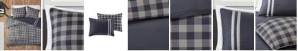 JLA Home Intelligent Design Oxford Full/Queen 3 Piece Reversible Comforter Mini Set