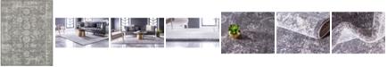 Bridgeport Home Wisdom Wis6 Dark Gray 8' x 10' Area Rug