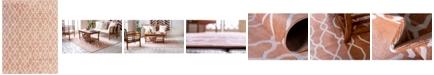 Bridgeport Home Pashio Pas8 Peach 9' x 12' Area Rug