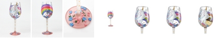 Enesco Lolita Unicorn Wine Glass
