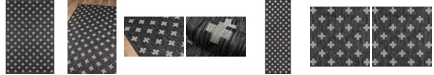 "Novogratz Collection Novogratz Villa Vi-01 Charcoal 3'11"" x 5'7"" Area Rug"