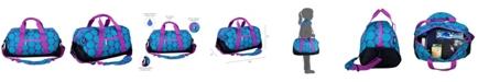 Wildkin Big Dot Aqua Overnighter Duffel Bag