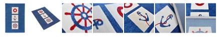 "IVI Mariner  Soft Nursery Rug with a Playful Design - 59""L x 39""W Playmat"