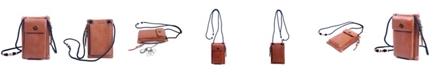 OLD TREND Rillet Leather Crossbody Bag