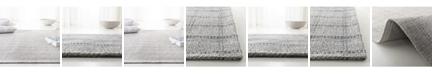Lauren Ralph Lauren Tamworth Check LRL6450C Silver Area Rug Collection
