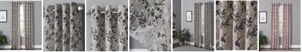"Windham Weavers Vanessa 50"" x 63"" Floral Curtain Panel"