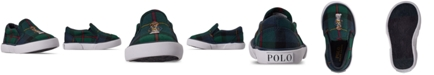 Polo Ralph Lauren Toddler Boys Bal Harbour II Slip-On Casual Sneakers from Finish Line