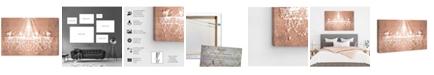 "Oliver Gal Dramatic Entrance Rose Canvas Art, 36"" x 24"""