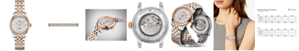 Tissot Women's Swiss Le Locle Automatic Lady Diamond Accent Two-Tone Stainless Steel Bracelet Watch 29mm