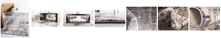 Jill Zarin Gramercy Downtown Jzd001 Multi 5' x 8' Area Rug