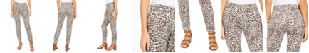 Style & Co Curvy Printed Skinny Jeans