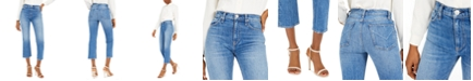 Hudson Jeans Remi High-Rise Straight-Leg Jeans