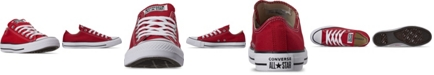 Converse Women's Shoes, Chuck Taylor Ox Casual Sneakers from Finish Line