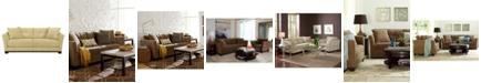 Furniture Elliot Fabric Microfiber Queen Sleeper Sofa Bed: Custom Colors