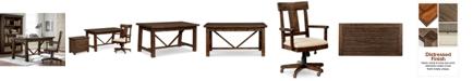 Furniture Ember Home Office Furniture, 3-Pc. Set (Desk, Lateral File Cabinet & Desk Chair)