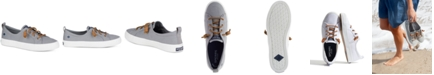 Sperry Women's Crest Vibe Memory-Foam Lace-Up Fashion Sneakers