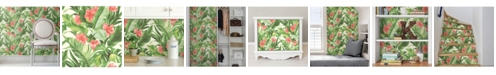 Brewster Home Fashions Tropical Paradise Peel And Stick Wallpaper