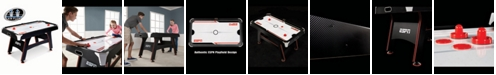 MD Sports ESPN 5' Air Powered Hockey Table with LED Electronic Scorer