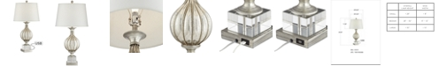 Pacific Coast Traditional Silver Mercure Table Lamp