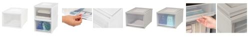 IRIS USA Iris Deep Box Chest Drawer, 3 Pack
