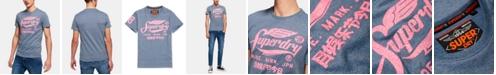 Superdry Men's Racing Series Textured Logo Graphic T-Shirt