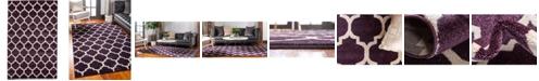 Bridgeport Home Arbor Arb1 Purple 5' x 8' Area Rug