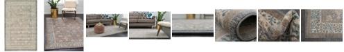 Bridgeport Home Bellmere Bel3 Gray 5' x 8' Area Rug