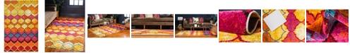 Bridgeport Home Pari Par1 Multi 6' x 9' Area Rug