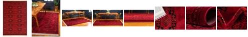 Bridgeport Home Vivaan Viv1 Red 7' x 10' Area Rug