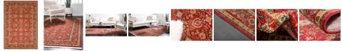 Bridgeport Home Orwyn Orw1 Red 8' x 11' Area Rug