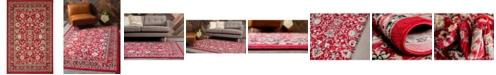 Bridgeport Home Arnav Arn1 Red 5' x 8' Area Rug