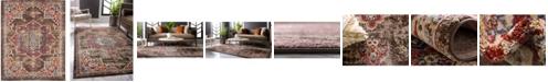 Bridgeport Home Shangri Shg3 Chocolate Brown 8' x 10' Area Rug