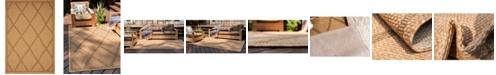 Bridgeport Home Pashio Pas7 Light Brown 6' x 9' Area Rug